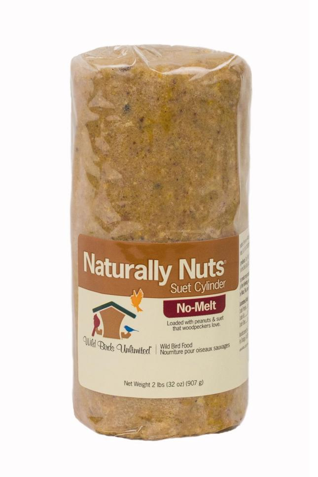 WBU Naturally Nuts™ No-Melt Suet Dough Cylinder