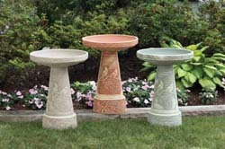 Ceramic Bird Baths