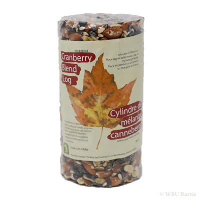 Cranberry Blend Seed Log