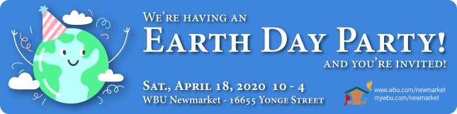2020-04-18 - Earth Day Party